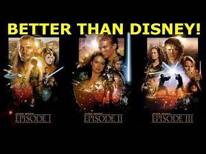 The Star Wars Prequels ARE better than the Disney Trilogy