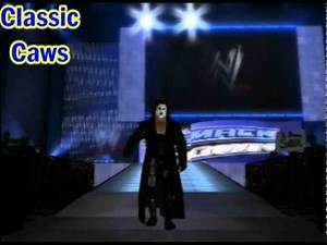 SVR 2010 Sting caw (WCW Black and white entrance + 3 finishers)