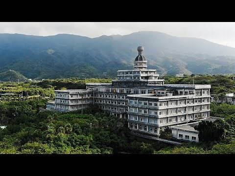 Exploring the Abandoned Royal Hotel - Hachijo Island