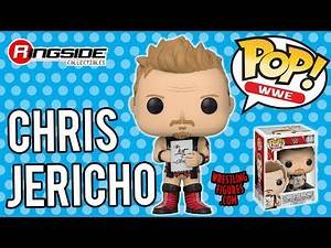 WWE FIGURE INSIDER: Chris Jericho - WWE Pop Vinyl Toy Wrestling Action Figure