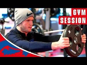 Hard Work in the Gym! | Training | England