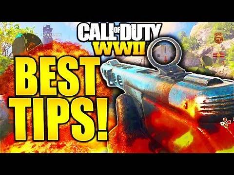 HOW TO BE A GOD AT COD WW2! IMPROVE AT CALL OF DUTY WW2 AND HOW TO GET BETTER COD WW2 BEST TIPS!