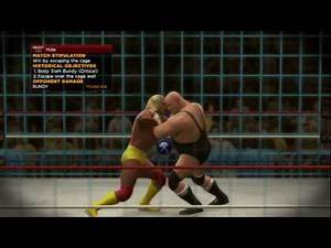 WWE 2K14 (PS3) Wrestlemania 2: Hulk Hogan vs. King Kong Bundy