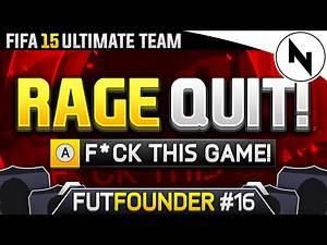 DIV 2 RAGE QUIT!!! - FUTFOUNDER #16 FIFA 15 Ultimate Team