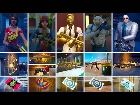All Bosses, Mythic Weapons & Vault Locations Guide - Fortnite Chapter 2 Season 2