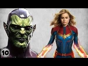 Top 10 Captain Marvel Villains