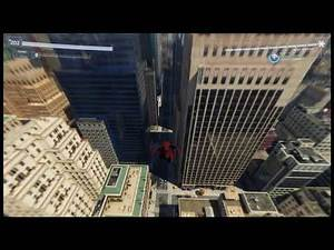 Spider-Man ps4 far from home suit with glider