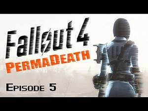 FALLOUT 4 PermaDeath Ep5 - The Walking Dead