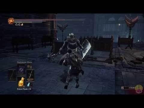Dark Souls 3 Zweihander review/showcase
