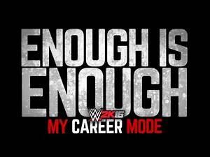 "WWE 2K16 My Career Mode - Ep. 40 - ""ENOUGH IS ENOUGH...."""