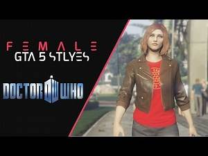 GTA 5   Female Outfit Styles 【Doctor Who】#28