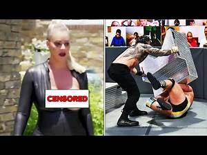 Maryse's Wardrobe Malfunction - Roman Reigns Makes Huge Botch on WWE SmackDown