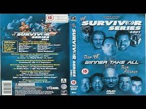 WWE Survivor Series 2001 - WWE 2K19 Full Card Playthrough