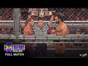 Drew Mcintyre vs. Dolph ziggler : Hell In The Cell - WWE Championship : WWE Extreme Rules (2020)