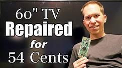 "60"" TV for less than a $1 - Vizio E601i-A3"