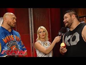 The outspoken Kevin Owens confronts Ryback: Raw, September 7, 2015