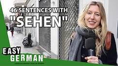 German Verbs: Sehen   Super Easy German (133)