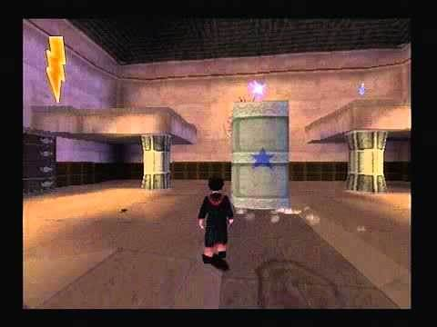 Harry Potter and the Philosophers Stone PS1 Walkthrough - Part 01