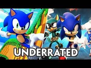 """Top 5 Most """"UNDERRATED"""" Sonic Games of All Time"""