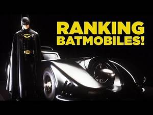 Batman: Every Screen Batmobile Ranked From Worst To Best