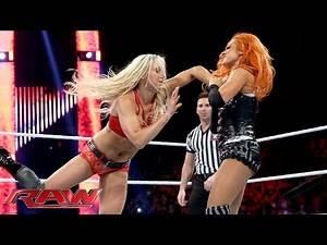 Becky Lynch vs. Charlotte: Raw, November 30, 2015