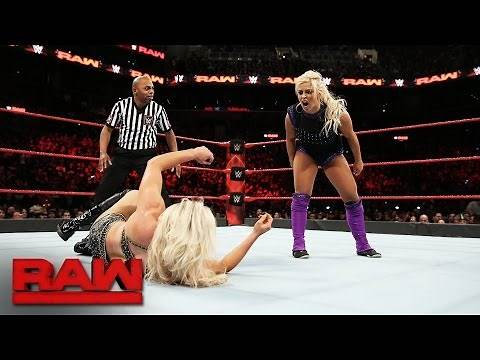 Dana Brooke vs. Charlotte Flair: Raw, March 20, 2017