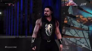 WWE 2K18 - Wrestlemania 34 Brock Lesnar vs Roman Reigns _ Epic Match Highlights