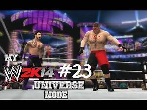 WWE 2K14 Universe Mode - Episode 23 (WRESTLEMANIA)