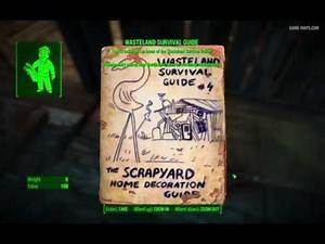 Wasteland Survival Guide Magazine - Lynn Woods - Fallout 4