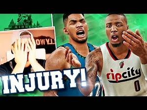 NBA 2K17 Timberwolves MyGM #14 - Injury At The WORST TIME POSSIBLE! :(