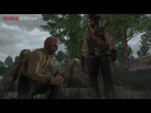 Flowers for a Lady - Stranger Mission - Red Dead Redemption