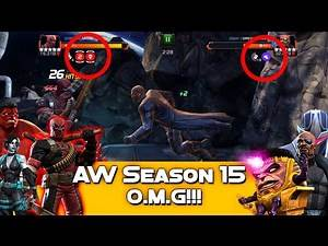 #AW S15 vs SSX1 - Massacre vs. Rank 5 Nick Fury - Marvel Contest Of Champions