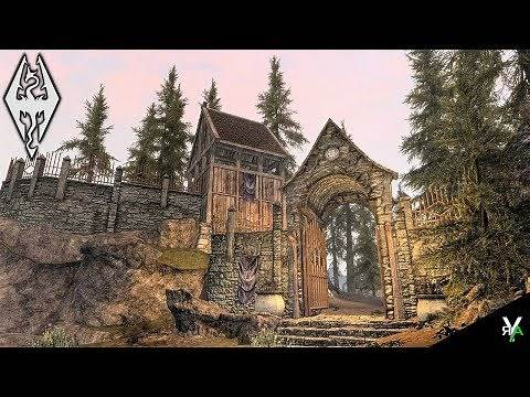 DRACO'S LAKEVIEW MANOR UPGRADES: Player Home!- Xbox Modded Skyrim Mod Showcase