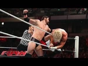 Dolph Ziggler vs. Bad News Barrett - Intercontinental Title Tournament Match: Raw, April 14, 2014