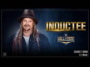 2018 WWE Hall Of Fame: 6th Inductee: Kid Rock!