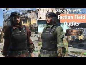 Fallout 4 Xbox One/PC Mods|Faction Field Outfits