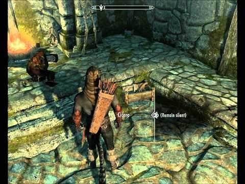 Skyrim - The Cure for Madness - Killing Cicero - Dark Brotherhood Questline