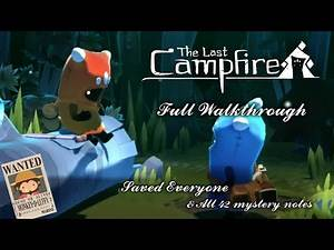 The Last Campfire - Full Walkthrough with saved everyone and all 42 forgotten notes [Apple Arcade]