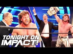 KENNY OMEGA Appears on IMPACT! Wrestling TONIGHT 8pm ET on AXS TV!