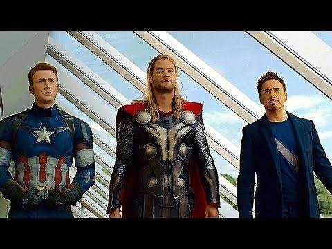 """Avengers: Age of Ultron - """"Elevator's Not Worthy"""" Ending Scene - Movie CLIP HD"""