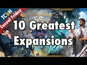 10 Greatest Board Game Expansions of All Time - Casual Friday ft. Kyle Frost of GIVEPAUSE Hobby