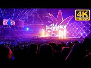 Undertaker WrestleMania 34 Entrance & Exit [4K] Ultra HD | LIVE