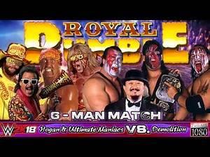 WWE2K18 GAMEPLAY: Demolition (with Mr. Fuji) VS. The Ultimate Maniacs & Hulk Hogan (with Jimmy Hart)