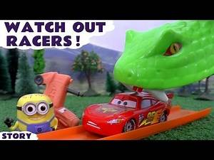 Disney Cars Hot Wheels Snake with Avengers Star Wars Minions Thomas and Friends Spiderman and Pepa
