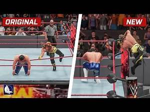 WWE 2K18 Top 10 New Move Variations #7