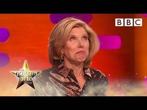 Christine Baranski is horrified Michael Sheen named his penis after her - BBC