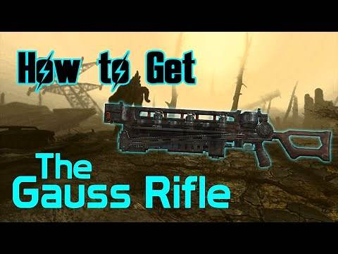 Fallout 4 - Gauss Rifle Location - Rare/Powerful Weapon!