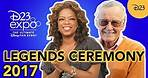 D23 Expo 2017 Disney Legends Award Ceremony