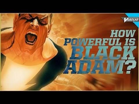 How Powerful Is Black Adam?