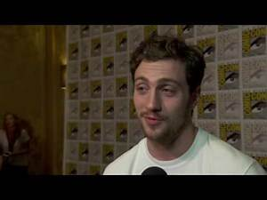 Aaron Taylor Johnson (Quicksilver) Marvel's 'Avengers: Age of Ultron' Comic Con 2014